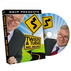DVD Twist and Turns by Mel Mellers and RSVP Magic