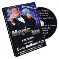 DVD Coin Balloonacy by Ian Garrison