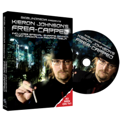 Frea-capped (DVD and Gimmicks) by Kieron Johnson and Big Blind M