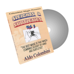DVD Sleights and Subtleties Vol.1 by Wild Colombini