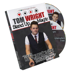 Standup Magic (2 DVD) by Tom Wright and WMS