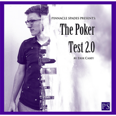 Poker Test 2.0 (DVD and Gimmick) by Erik Casey