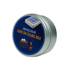 Card on Ceiling Wax 50g (blue) by David Bonsall
