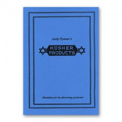 Kosher Products: Lecture Notes by Andy Nyman & Alakazam
