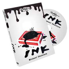 Paul Harris Presents Ink (Gimmick and DVD) by Mickael Chatelain