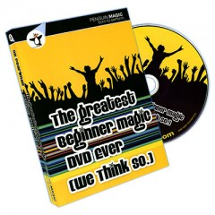 DVD Greatest Beginner Magic DVD Ever (We Think So!) by Oz Pearlm