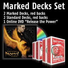 Phoenix Marked Decks Set - red