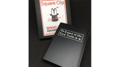 Expert At The Card Table Card Clip (Black) by Magic Square