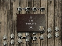 M-16 Bullets (Metal Coins)