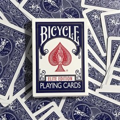 Bicycle Elite Edition Playing Cards (blue)