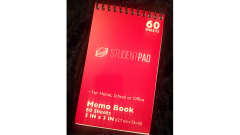 SvenPad® KoD Memo Pad (Red, Single)