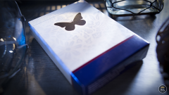 Butterfly Playing Cards Marked (Blue) 2nd Edition by Ondrej P.