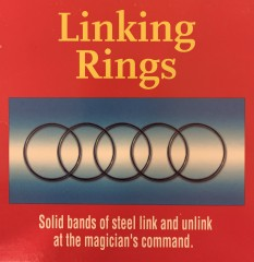 Linking Rings by Royal Magic (ca. 12 cm)