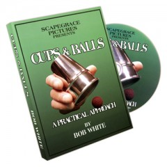 DVD Cups And Balls by Bob White