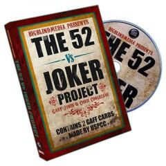 DVD The 52 vs Joker Project by Gary Jones & Chris Congreaves