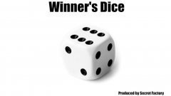 Winner's Dice (Gimmicks and Online Instructions) by Secret Facto