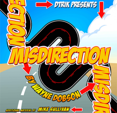 Misdirection (Book and Online Instructions) by Wayne Dobson
