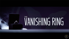 Vanishing Ring Black (Gimmick and Online Instructions) by SansMi